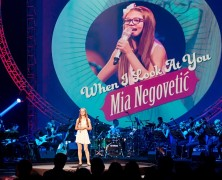 Mia Negovetić in Zagreb on 16/09/16