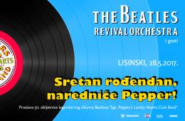 Snimka Beatles Revival Orchestra (28.5.2017) @Lisinski