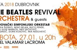 Beatles Revival Orchestra i gosti – Dubrovnik 27.1.2018.