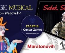 Častimo: Maratonovih 10 | 27.5.2018. | 20:00 CENTAR ZAMET
